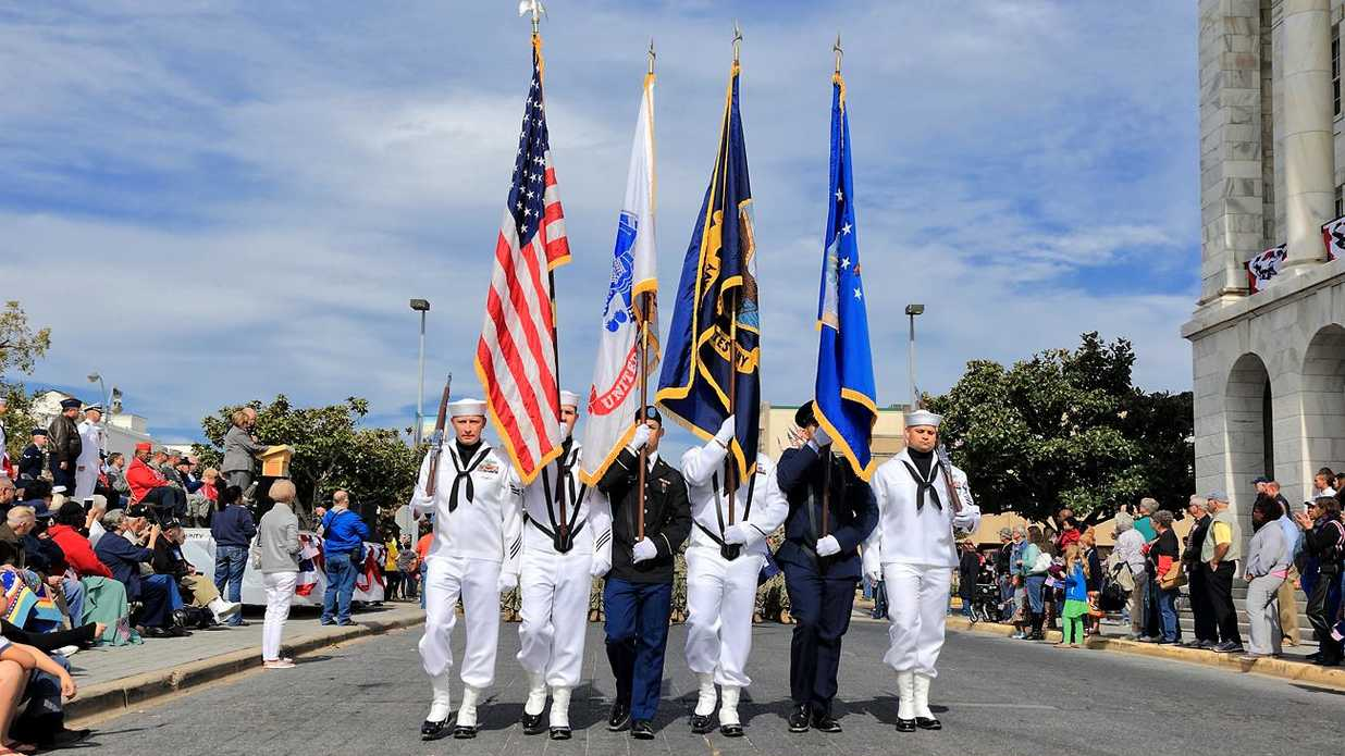 Veteran's Day Parades Across the South