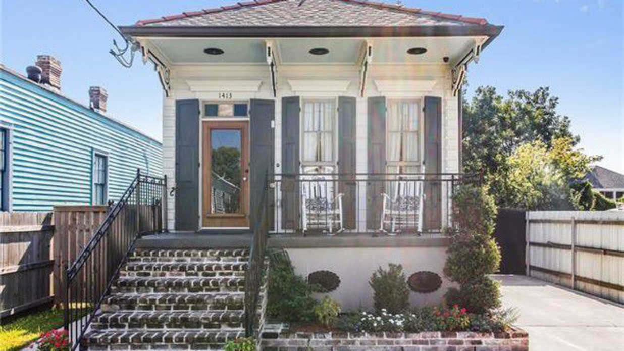 For The Most Adorable New Orleans Cottage
