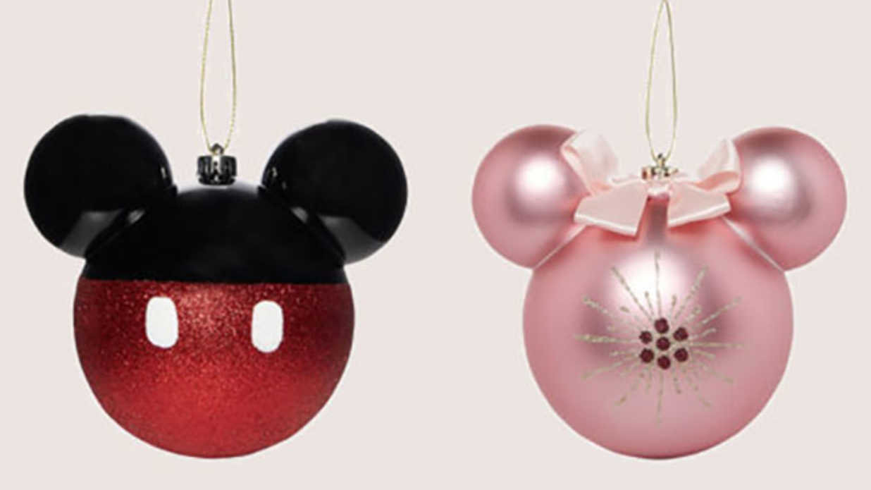 Take A Look At These Adorable Disneyinspired Christmas Ornaments   Southern Living