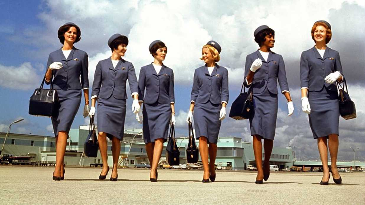 Flight Attendant Uniforms Through The Years Southern Living