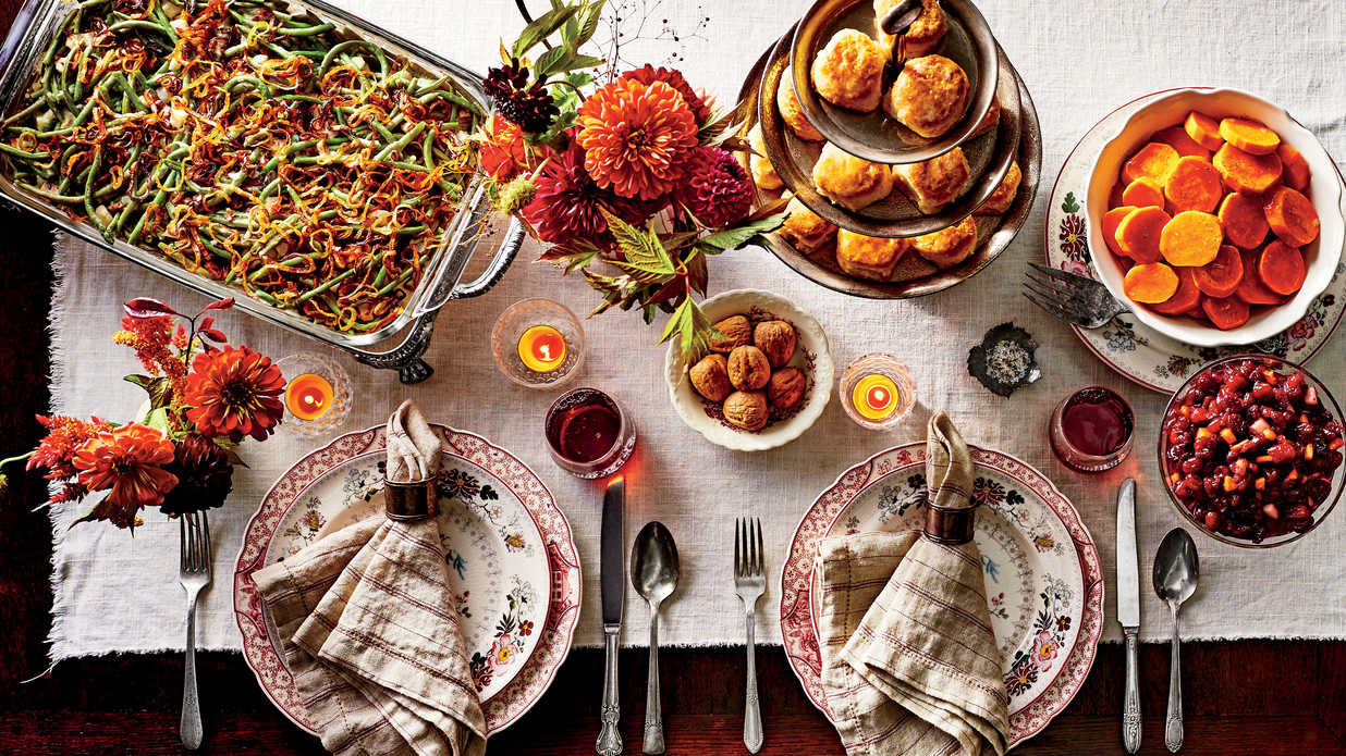 Thanksgiving Recipes - Cover