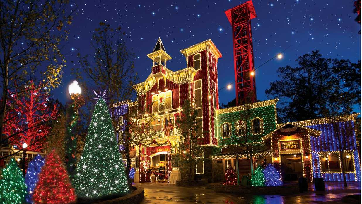 Mcadenville Christmas Lights