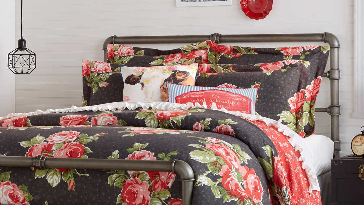 The pioneer woman s bedding collection is available now for The pioneer woman magazine subscription