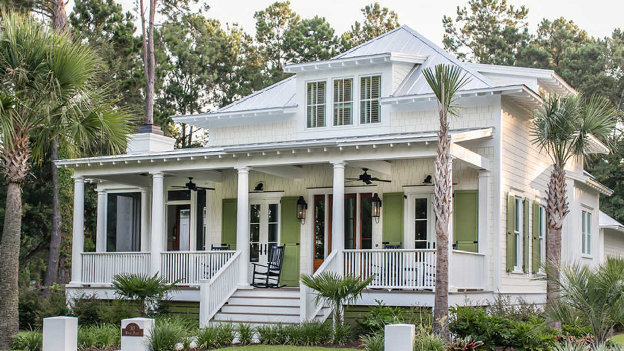 Our best beach house plans for cottage lovers southern - What is a bungalow style home ...