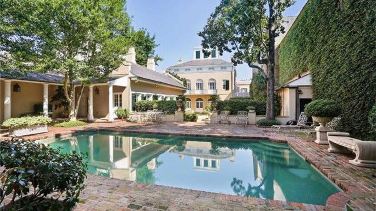 Palatial French Quarter Mansion Hits the Market in New Orleans
