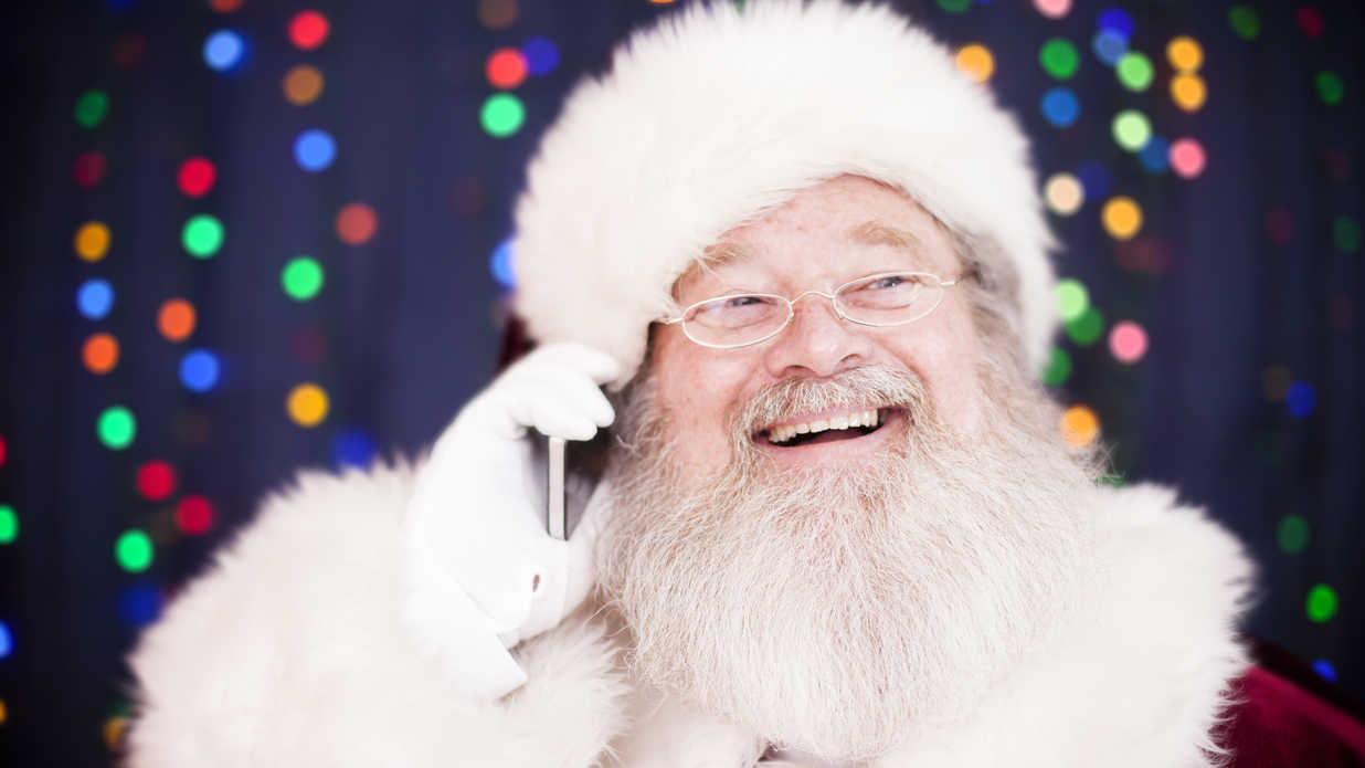 Forget stamps you can reach santa claus by phone for Food network magazine phone number customer service
