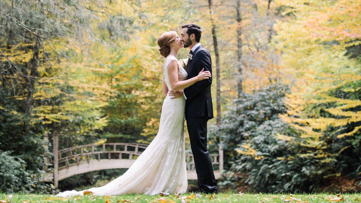 This North Carolina Wedding Is Proof that Magic Happens Mountainside