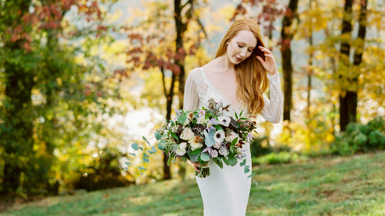 Vintage Glamour Meets Rustic Romance At This Knoxville Celebration