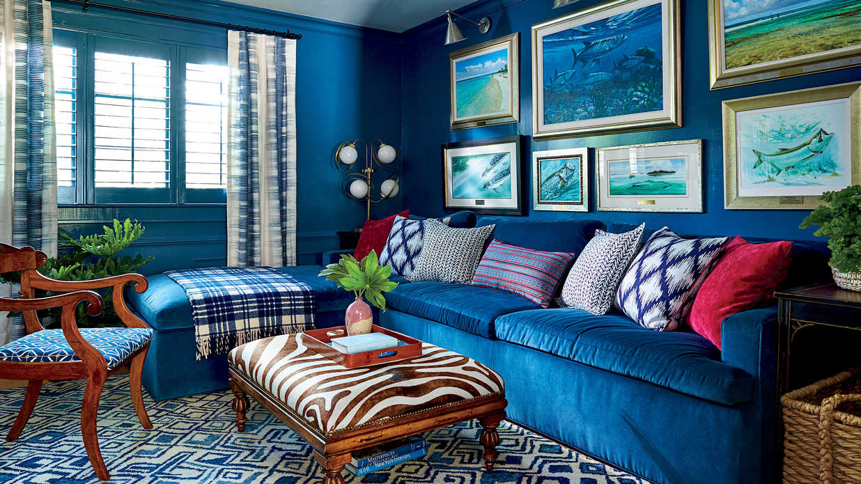 Bold, Bright Colors Transformed This James Island, South Carolina Ranch