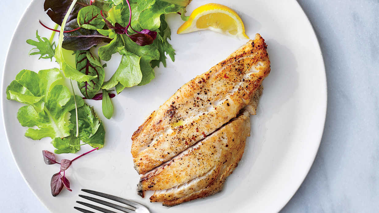 How to Cook Flounder - Southern Living