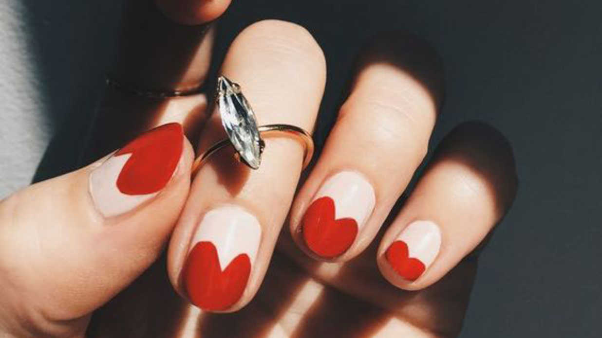 25 Valentine's Day Nail Designs You'll Fall Head Over Heels For