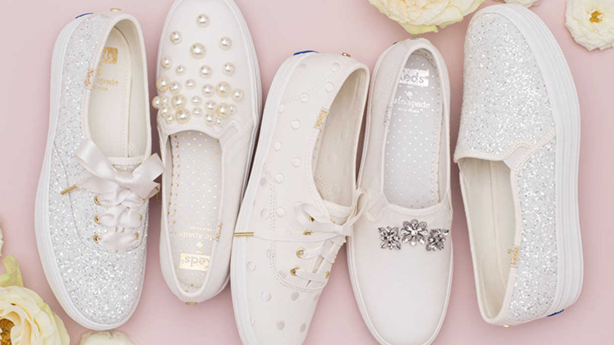 Keds and Kate Spade Just Launched a Wedding Line of Sneakers
