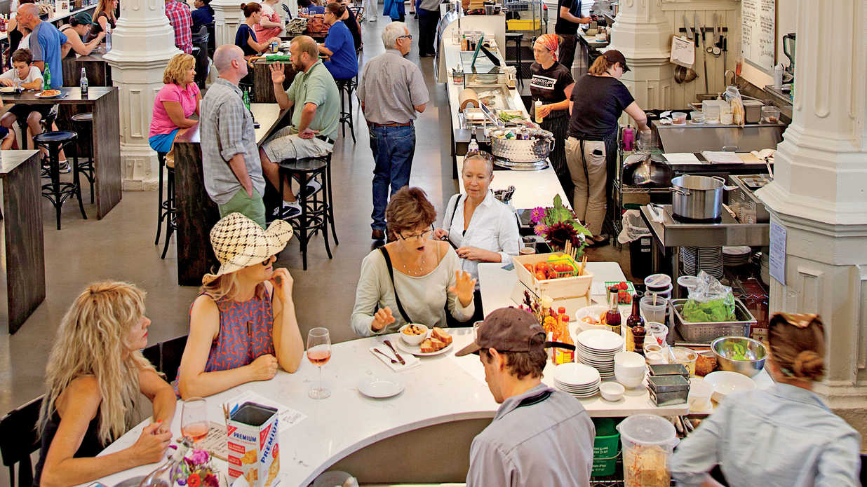 The South's Best Food Halls