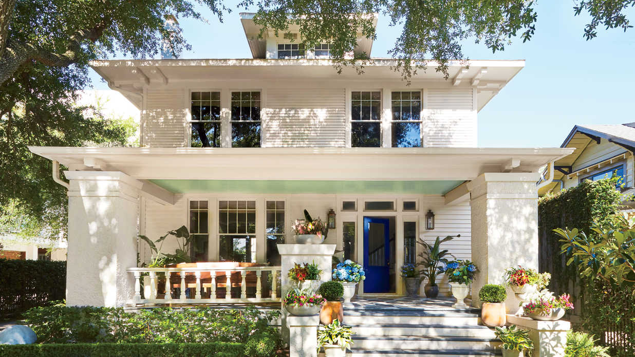 See How Colorful Decorating Ideas Transformed This 100-Year-Old, 2,500-Square-Foot Craftsman