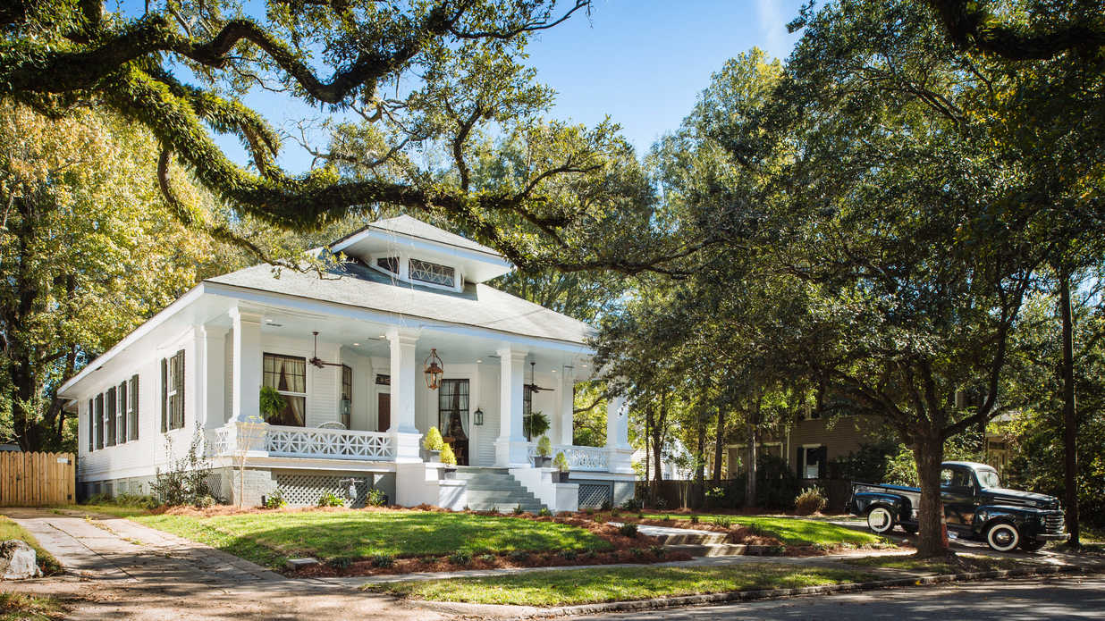 This Charming Bungalow in Mobile's Historic Garden District Is For Sale–And We're In Love