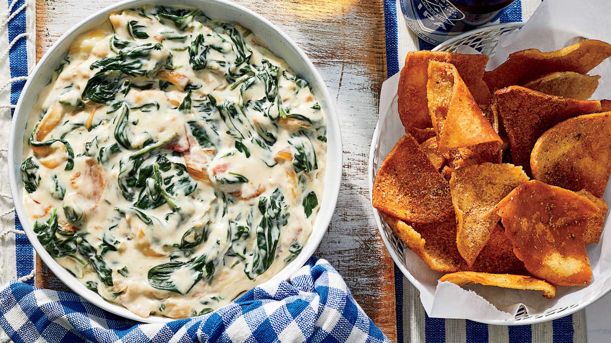 Spinach Dip Recipes for Every Party and Tailgate This Season