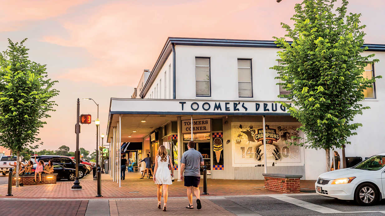 The South's Best College Towns 2018