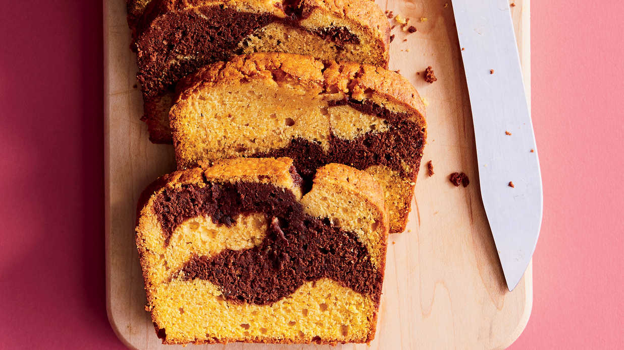 Chocolate Marble Pumpkin Spice Bread Recipe Southern Living