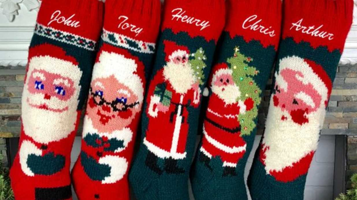 Our Favorite Personalized Christmas Stockings