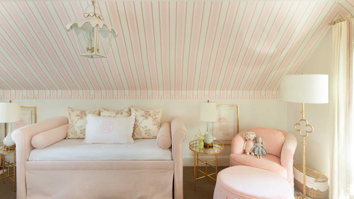 One Sweet Makeover: We're Blushing Over This Baby Girl's Nashville Nursery
