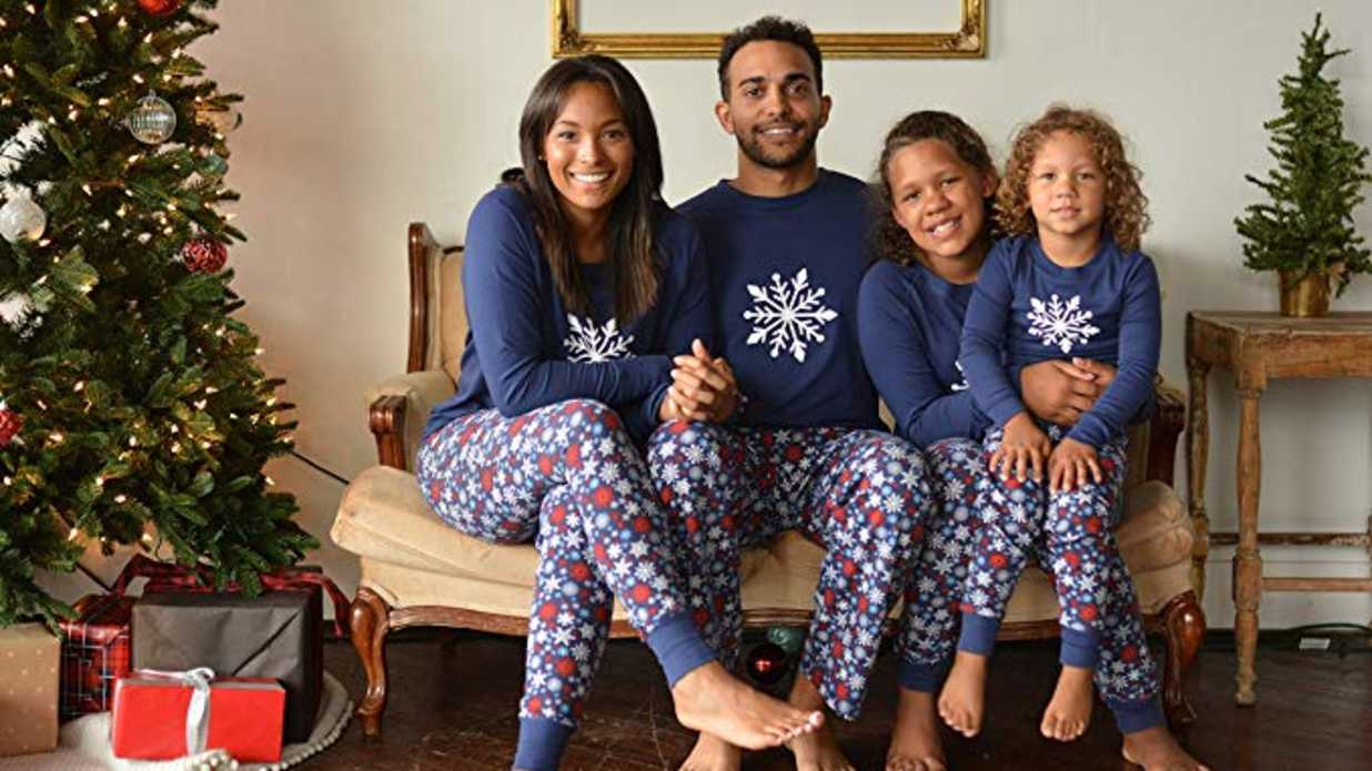 d813d9e3066e 35 Matching Christmas Pajamas The Whole Family Will Love