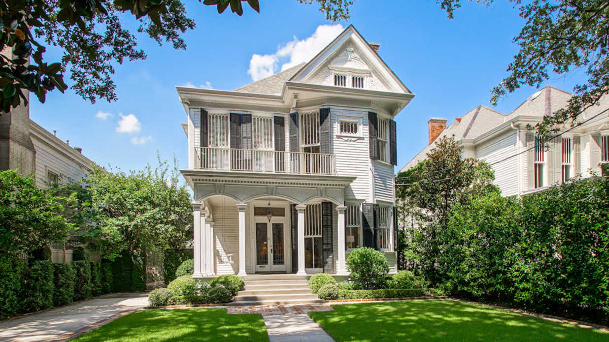 WATCH: This Gorgeous Victorian Home in Uptown New Orleans Is on the Market for $1.95 Million