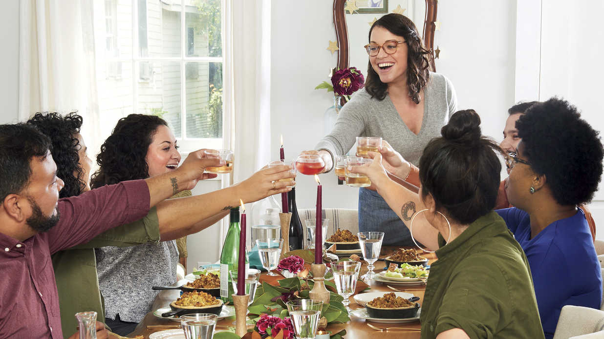 Joy Wilson Shows Us How She Hosts Friendsgiving