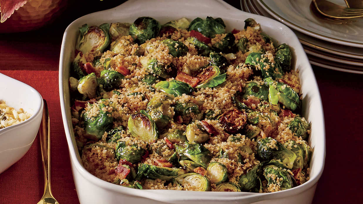 Brussels Sprouts with Bacon and Shallots Recipe