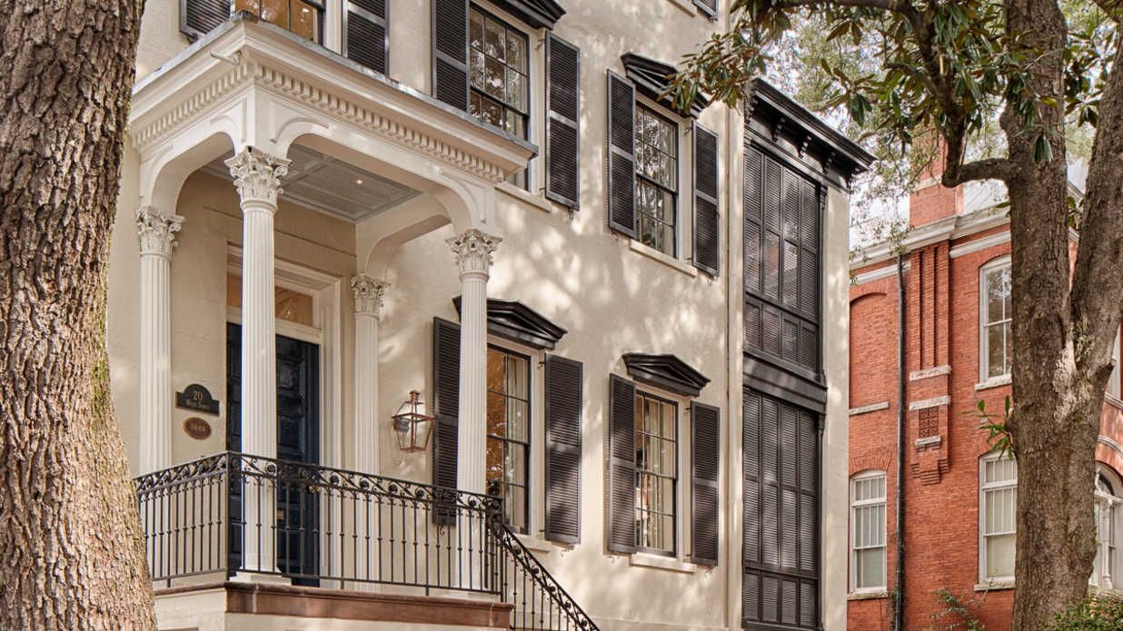 Modern Luxury Meets Historic Charm in This Downtown Savannah Stunner