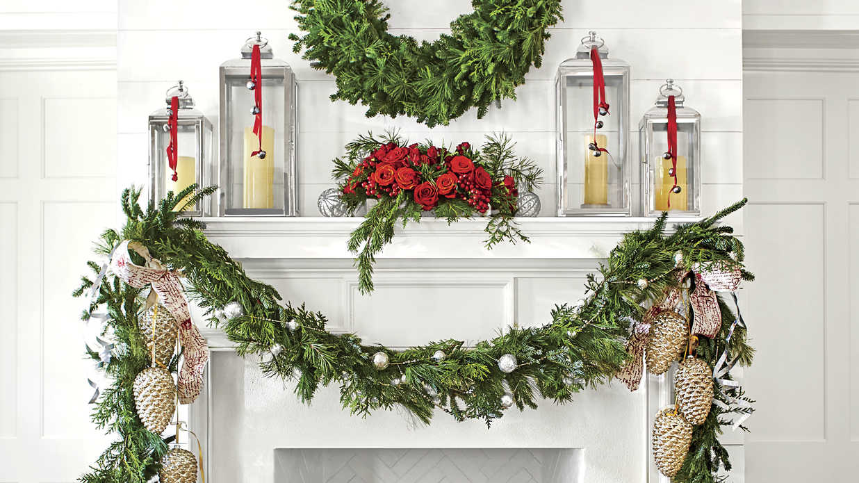 50 Ways to Decorate with Fresh Christmas Greenery