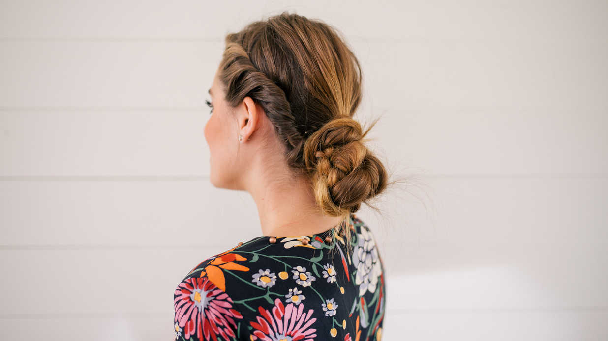Updos for Long Hair That Take You from Day to Night