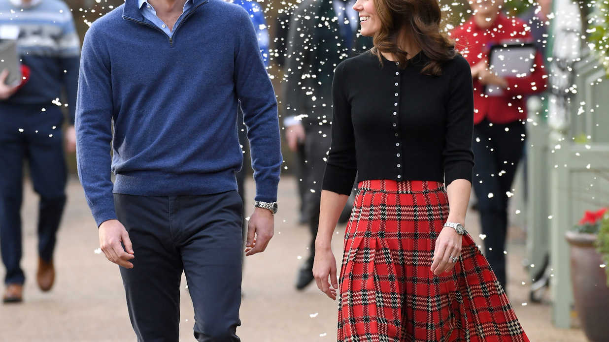 Kate Just Brought Major Christmas Vibes with the Ultimate Figure-Flattering Skirt