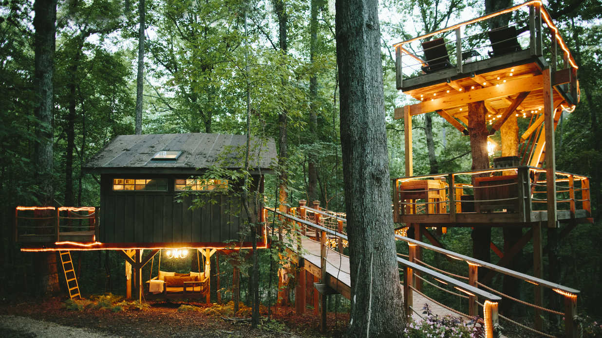 Plan Your Next Getaway to this Magical South Carolina Treehouse Airbnb