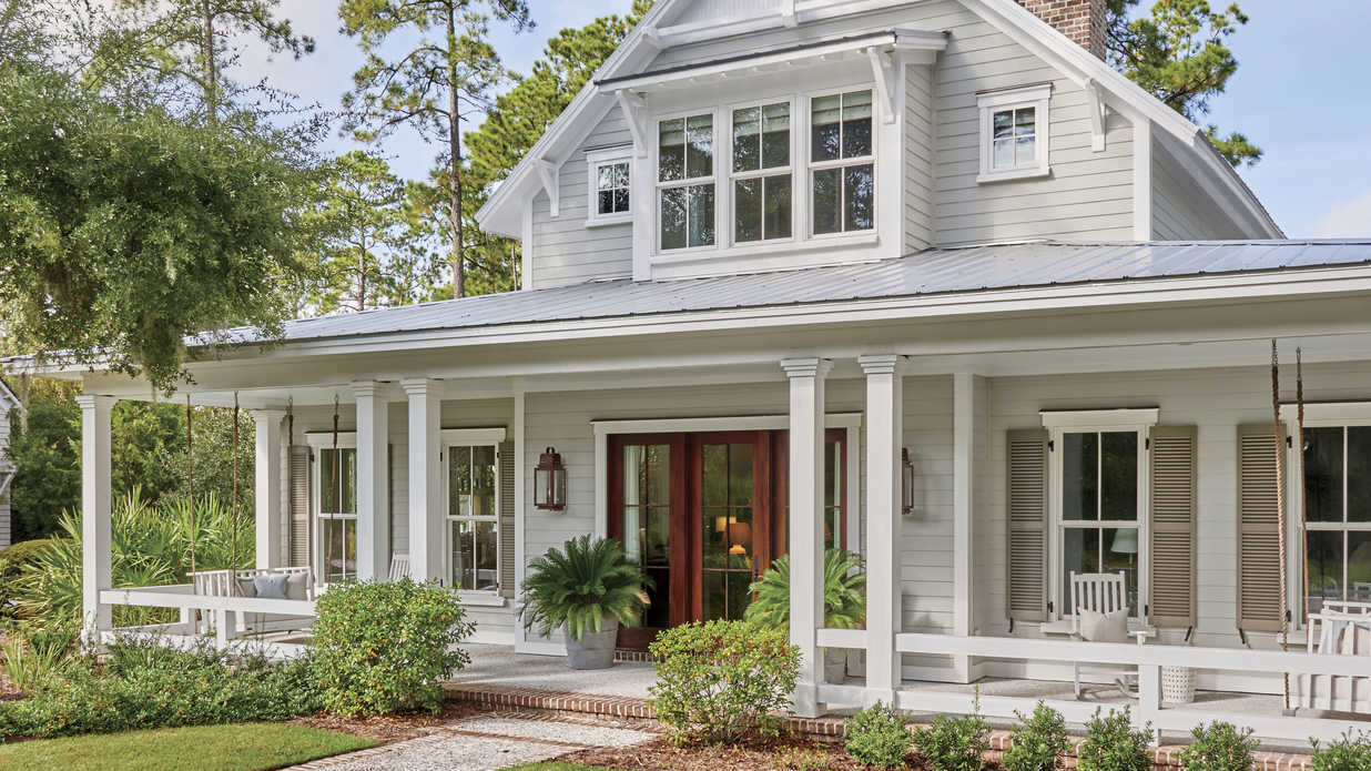 We're Loving This Lowcountry Farmhouse House Plan