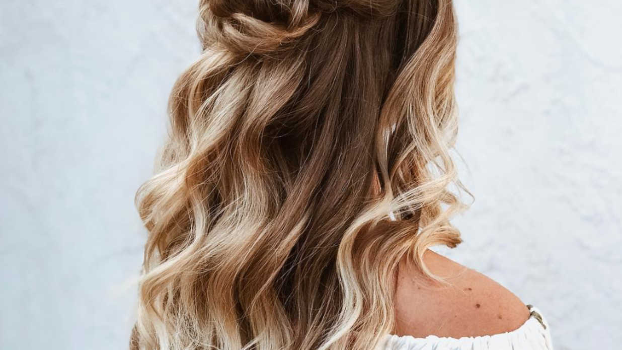 Half-Up Hairstyles We're Loving Right Now