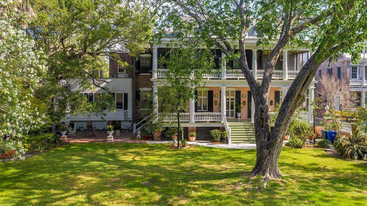 This Stunning Charleston Home Has the Porch of Our Dreams—And It's For Sale