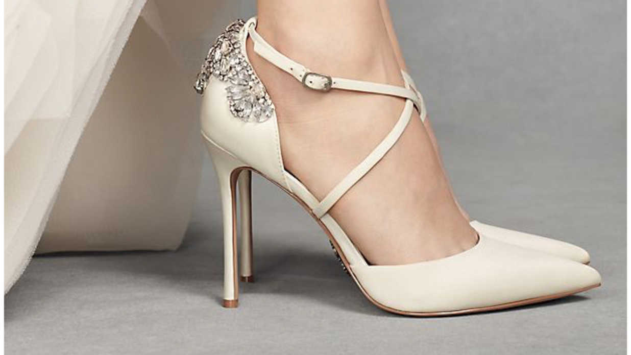 5e62ccd6214 Wedding Shoes That Will Make You Do a Double Take
