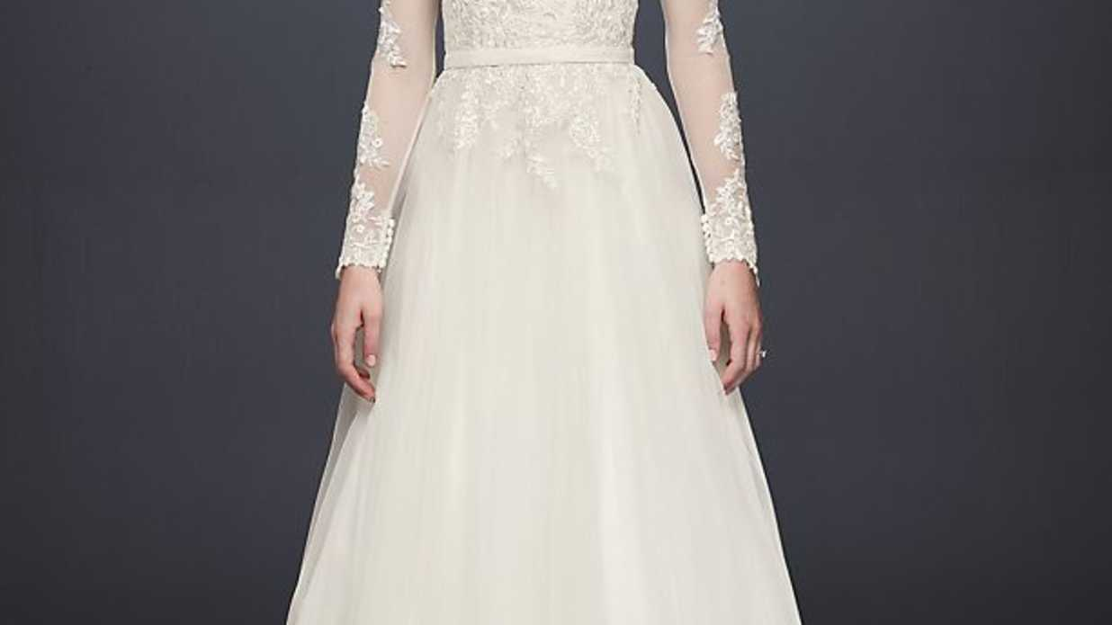 Elegant A-Line Wedding Dresses