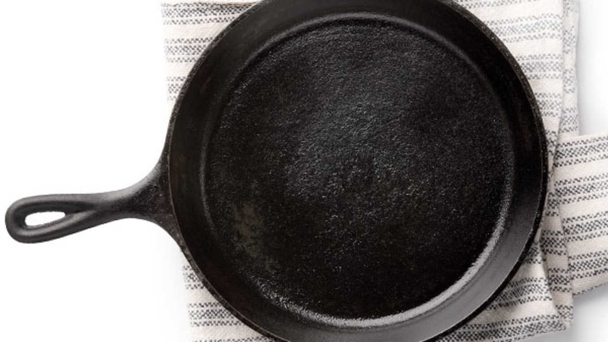 How To Season A Cast Iron Skillet Southern Living