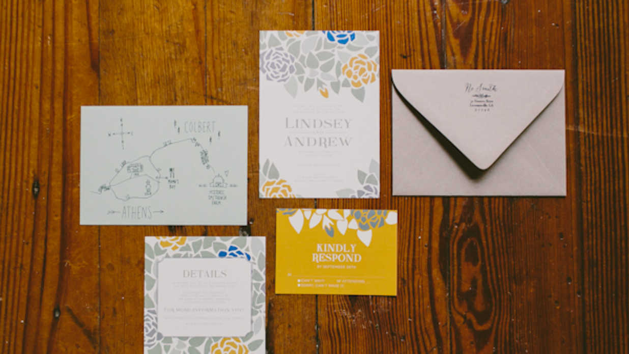 Smithonia wedding invitations