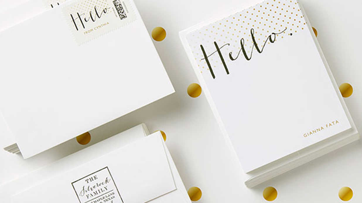 Our Favorite Personalized Stationery