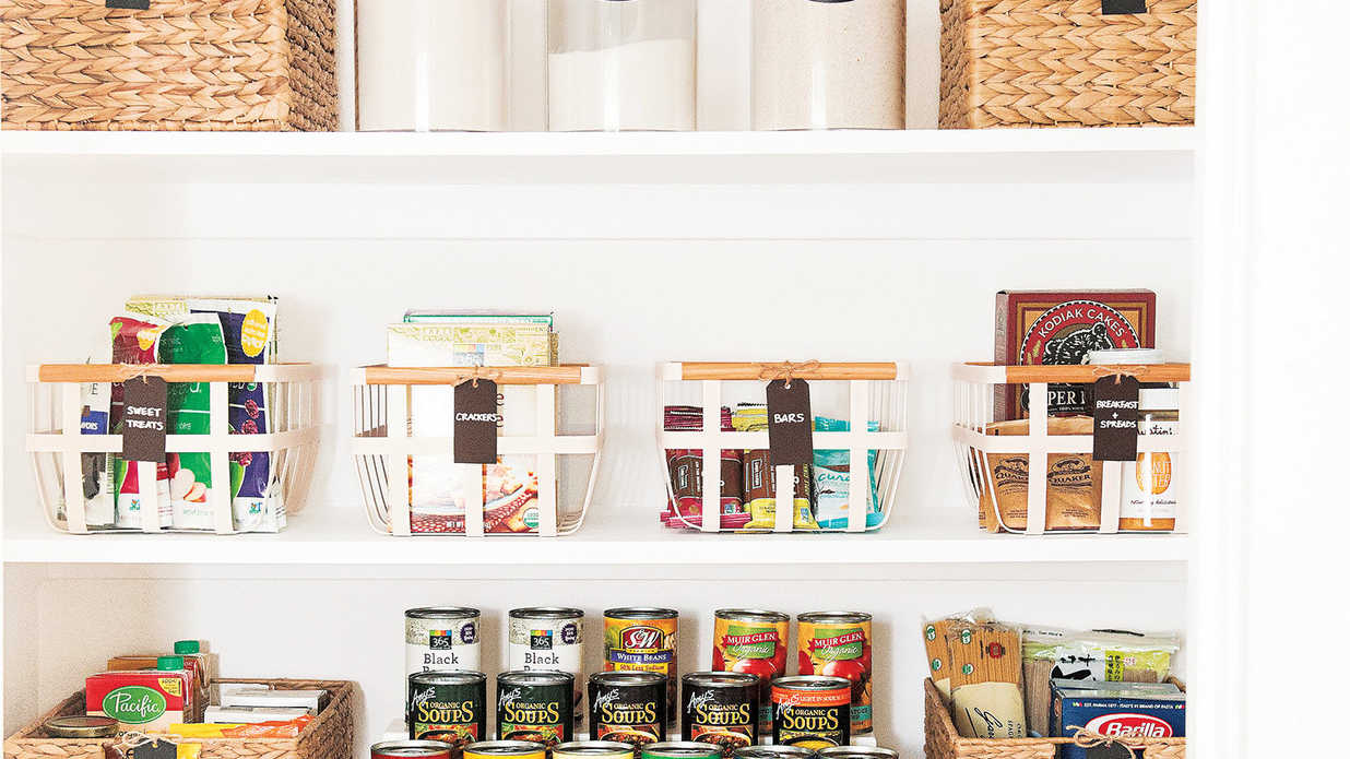 How to Organize Your Pantry for Under $20