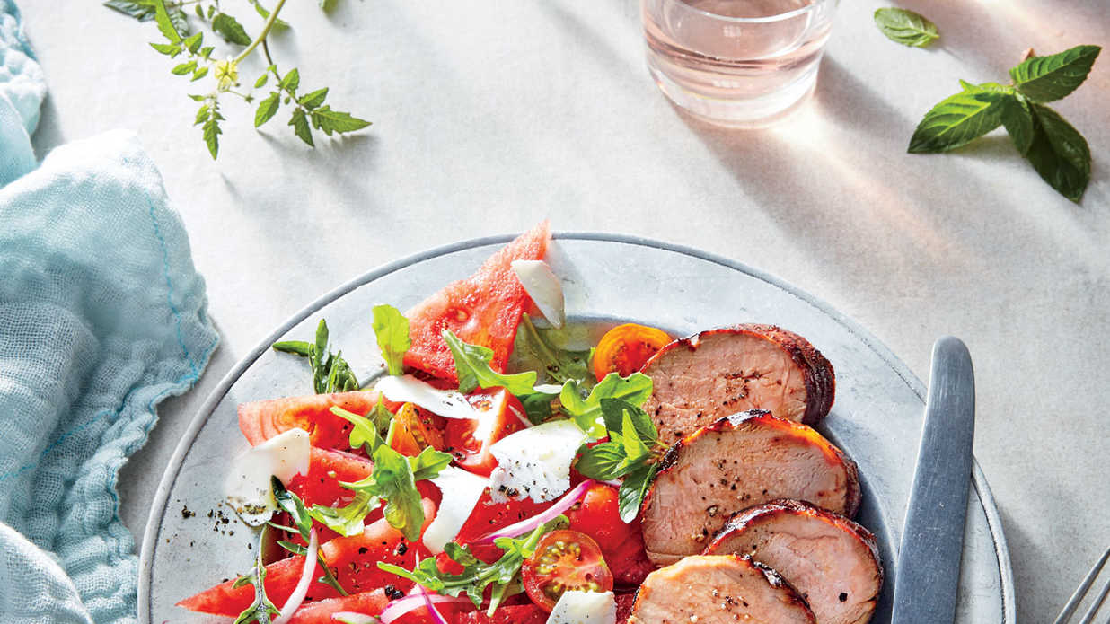Peach-Glazed Pork Tenderloin Recipe