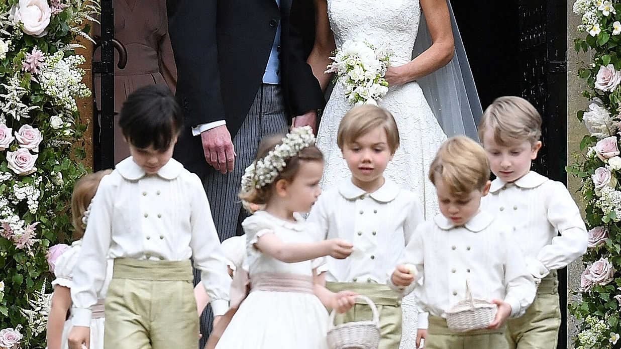 The Absolute Cutest Photos of Prince George and Princess Charlotte from Pippa Middleton's Wedding