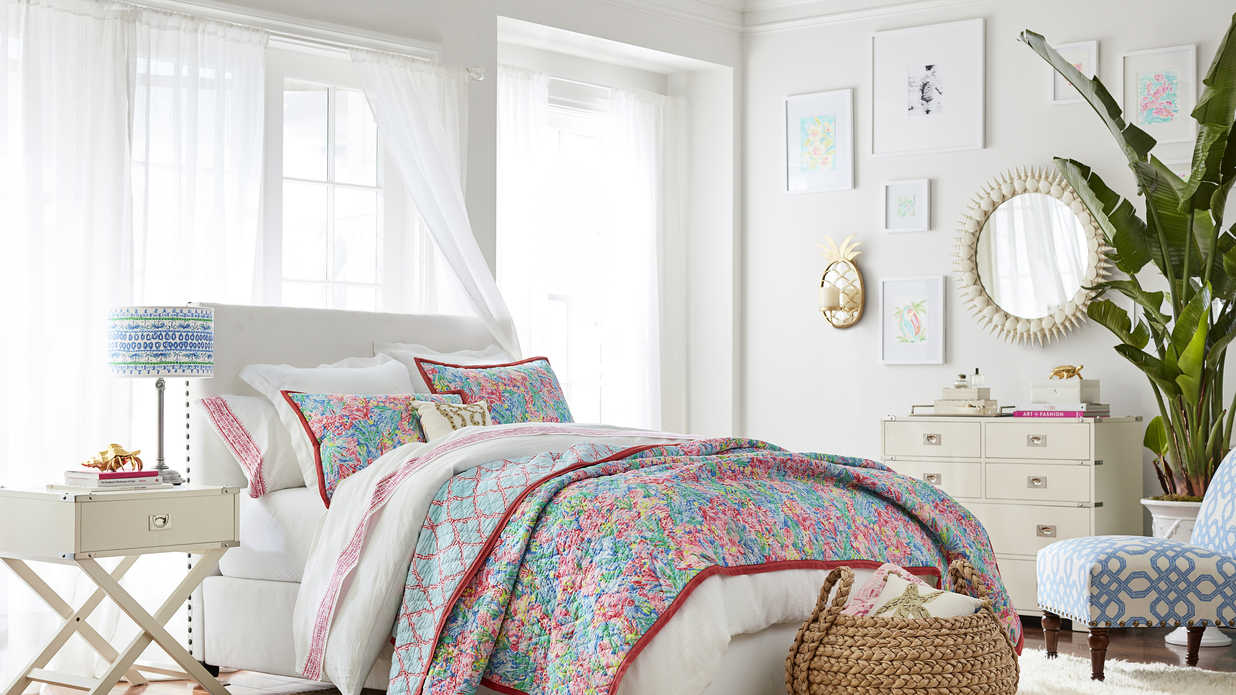 First Look: Everything You Need from the Pottery Barn x Lilly Pulitzer Collection