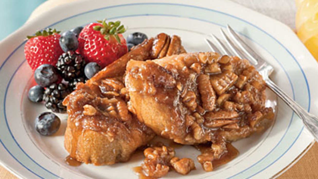 Praline-Pecan French Toast Recipe