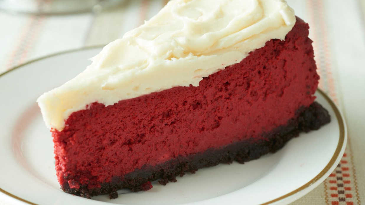 Red Velvet Cheesecake Recipe Southern Living