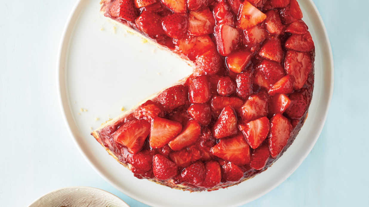 Strawberry Upside-Down Cake Recipe