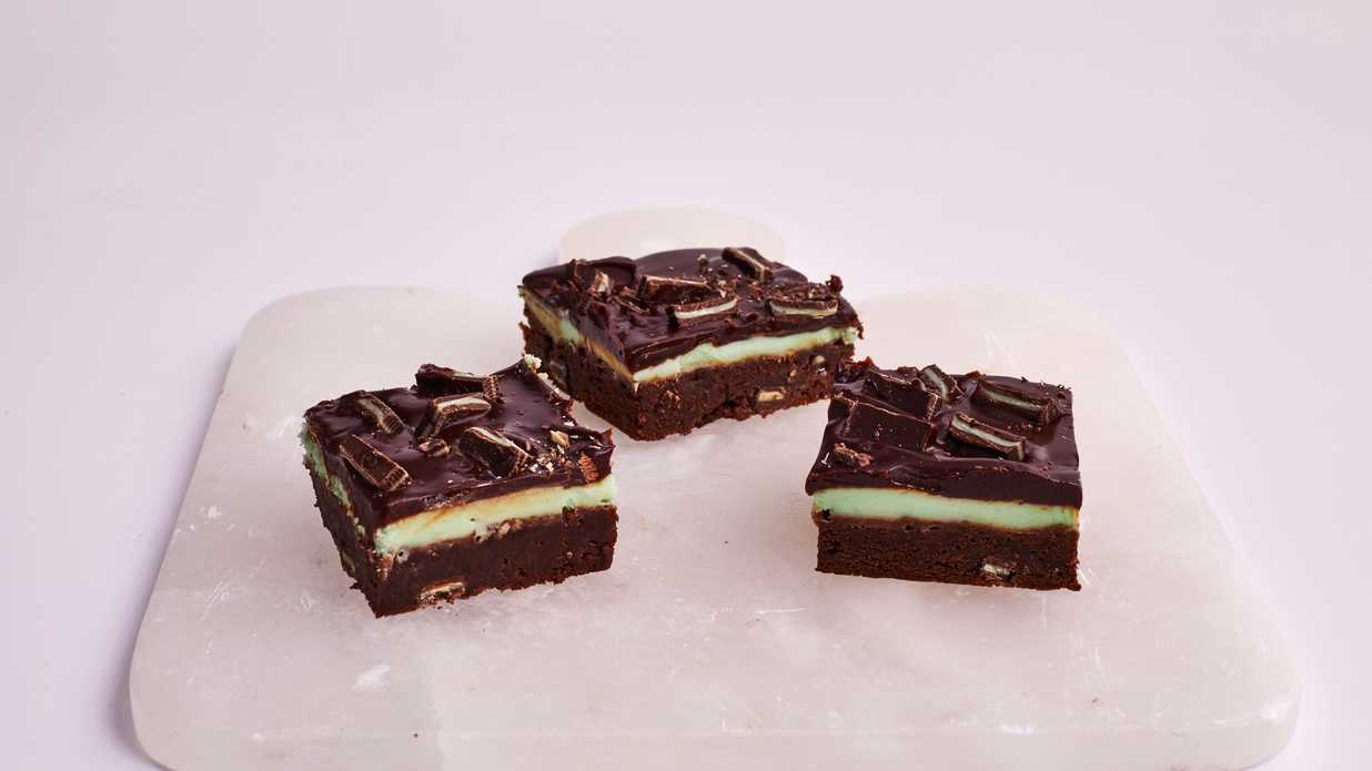 Andes Mint Brownies Recipe