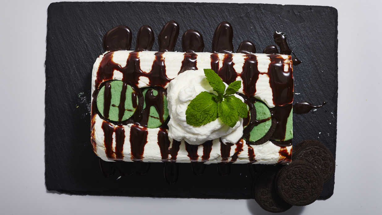 Mint Oreo Icebox Cake Recipe
